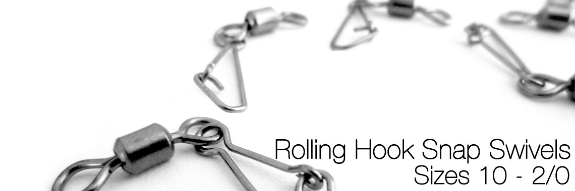 Rolling Hook Snap Swivels