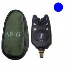 AP6i Single Alarm W/Pouch - Blue
