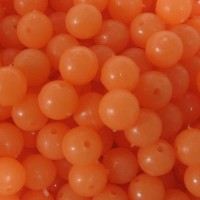 Lumi Beads Orange 8mm