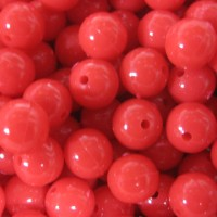 Beads Red 8mm (1000)