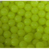 Beads Yellow 6mm (1000)