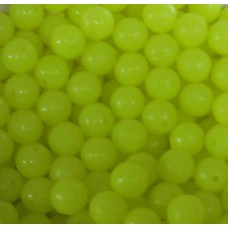 Beads Yellow 8mm (1000)