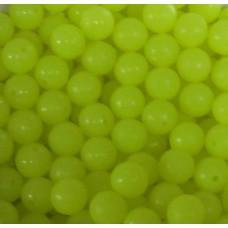 Beads Yellow 6mm (1000)