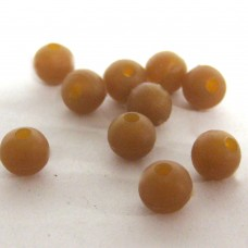 6mm Rubber Beads (1000) Camo Brown