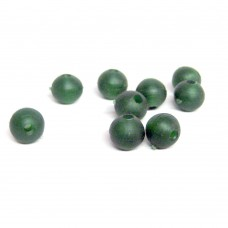 6mm Rubber Beads (1000) Camo Green