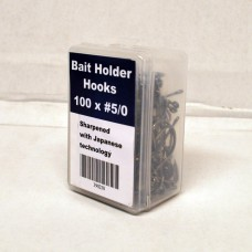 Baitholder Hooks - #5/0 - Packed 100