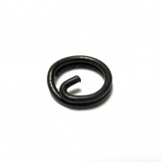 Matt Black Split Rings - Bulk 1000
